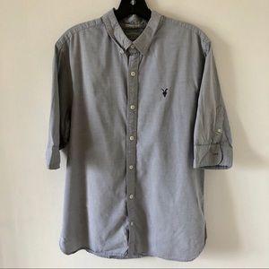 Men's All Saints Dress Shirt Size Medium